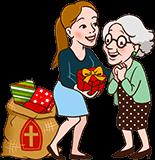 Sinterklaas cadeau voor Oma