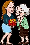 Cadeau voor Oma