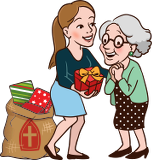 Sinterklaascadeau voor Oma