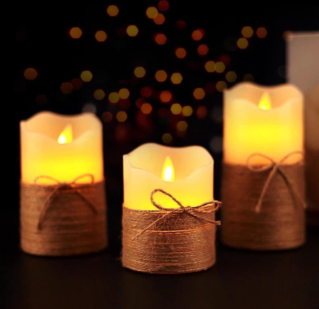 LED kaarsen - cadeau voor oma