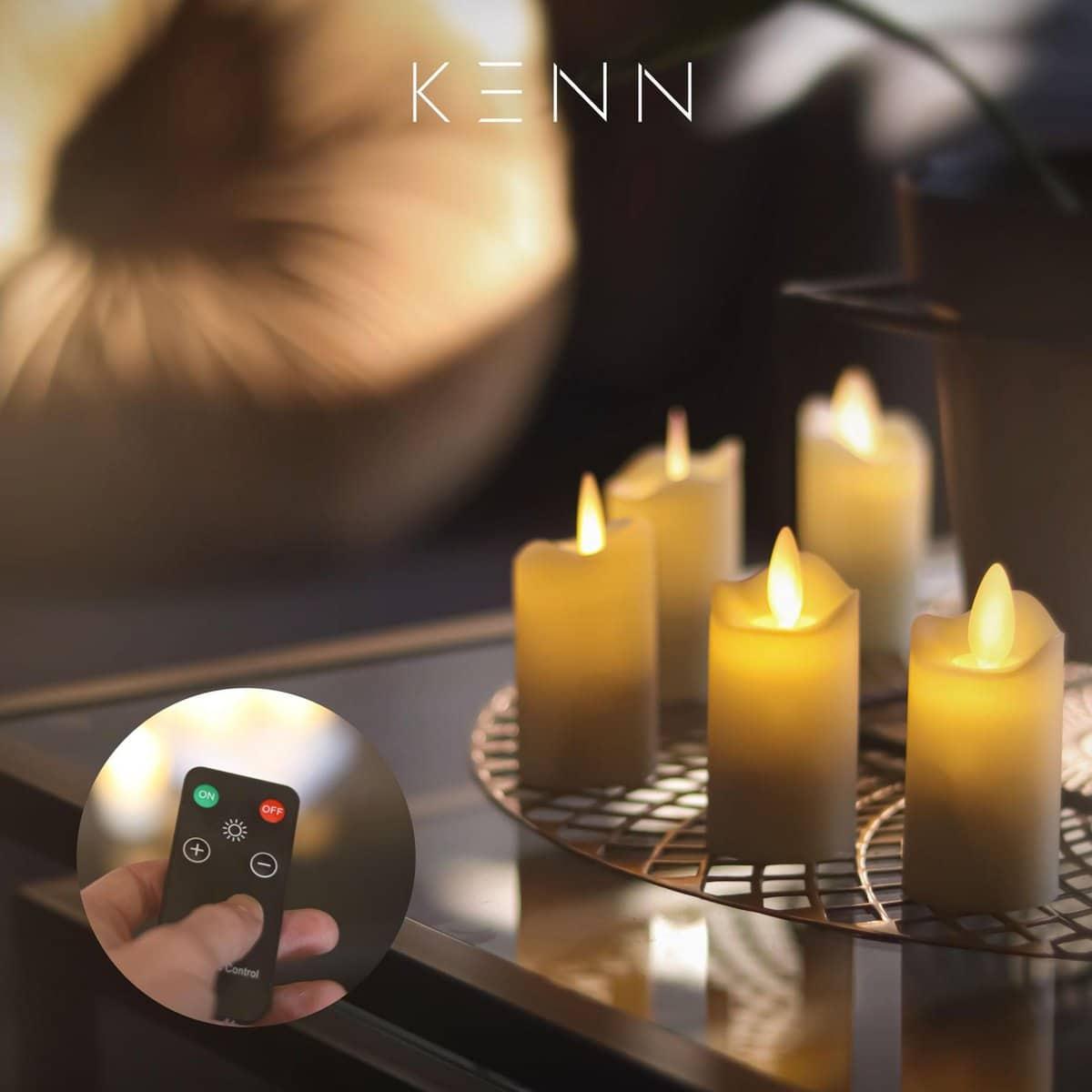 LED kaarsen - cadeau voor senioren