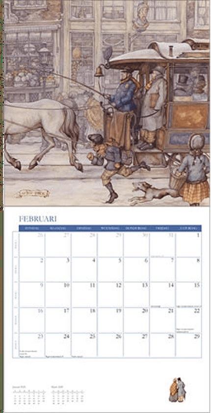 sinterklaascadeau voor Oma - kalender