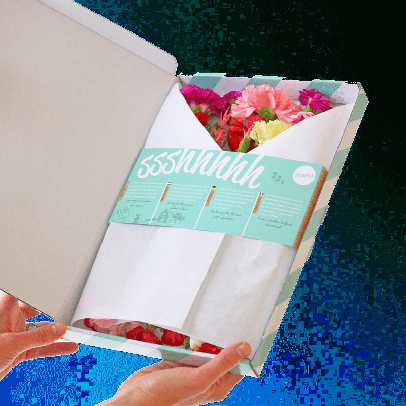 brievenbusbloenen - moederdagcadeau voor oma