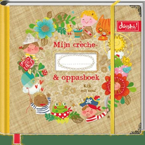 oppasboek - invulboek voor oppassen kinderopvang