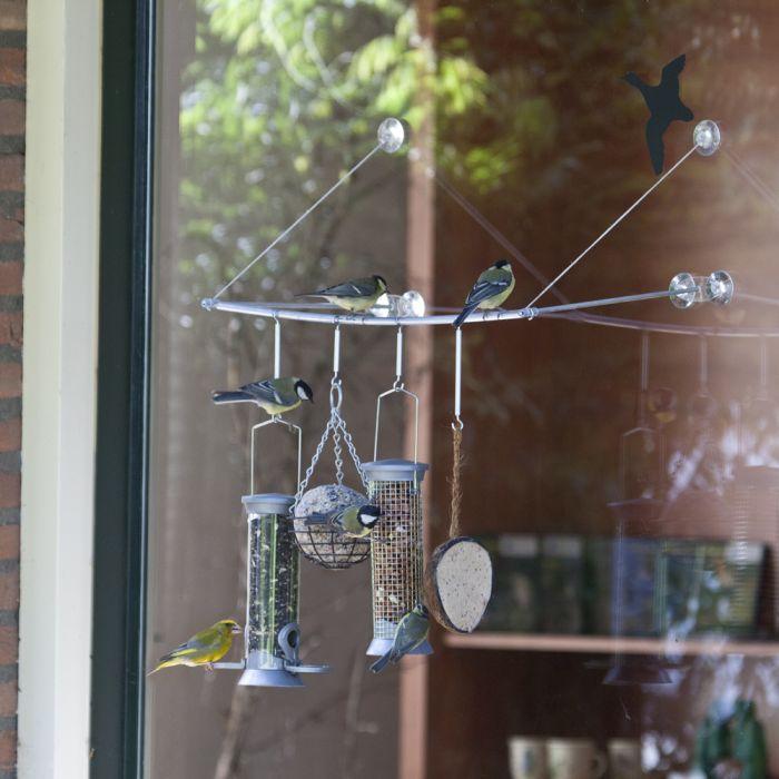 doorzichtig vogelhuisje - cadeau voor oma 80 jaar