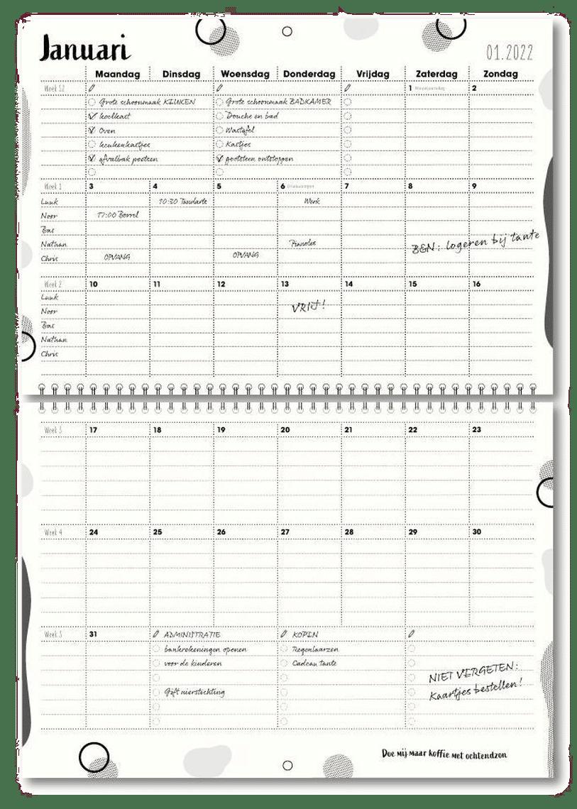familieplanner familyplanner - kalender