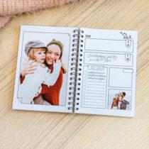gepersonaliseerde agenda met eigen foto's - cadeau voor Oma