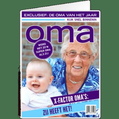 kaartje voor oma - tijdschriftcover