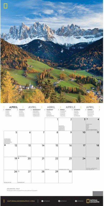 kalender voor opa en oma - natuur