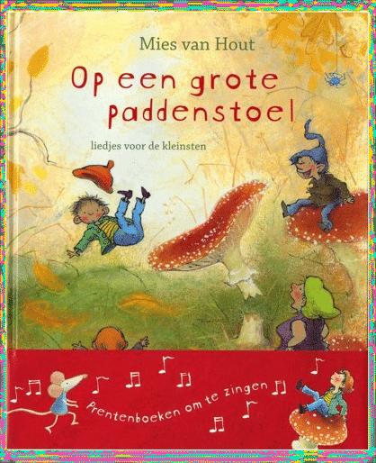 Cadeau voor aanstaande grootouders - prentenboek kinderliedjes CD