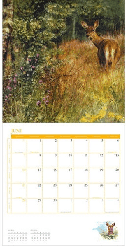 Rien Poortvliet kalender cadeau voor Oma