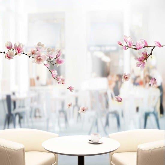 vrolijk cadeau voor Oma - raamstickers magnolia