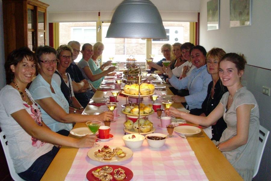 workshop high tea - familie uitje oma