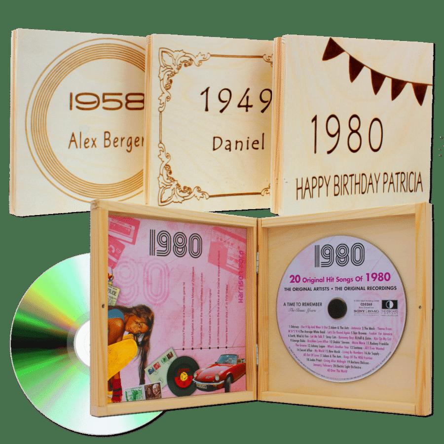 cadeau voor oma 80 jaar - muziek van vroeger