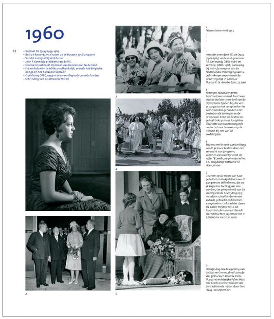 koninklijk fotoalbum voorbeeldpagina
