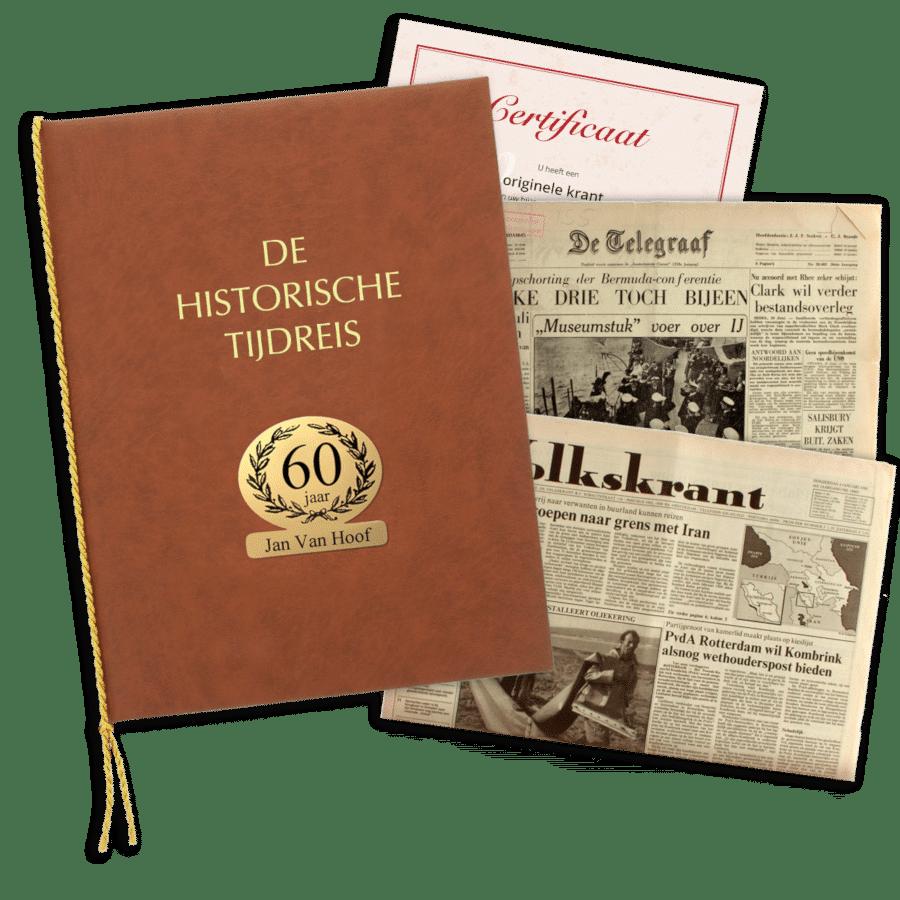 krant van vroeger - cadeau voor oma 80 jaar