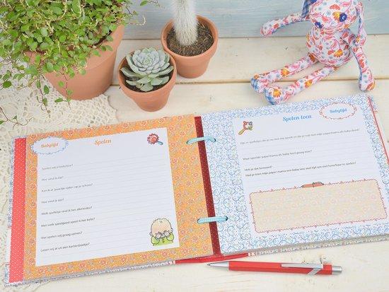 invulboekje kleinkind - cadeau voor oma