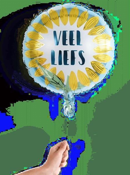 oma beterschap wensen - ballon