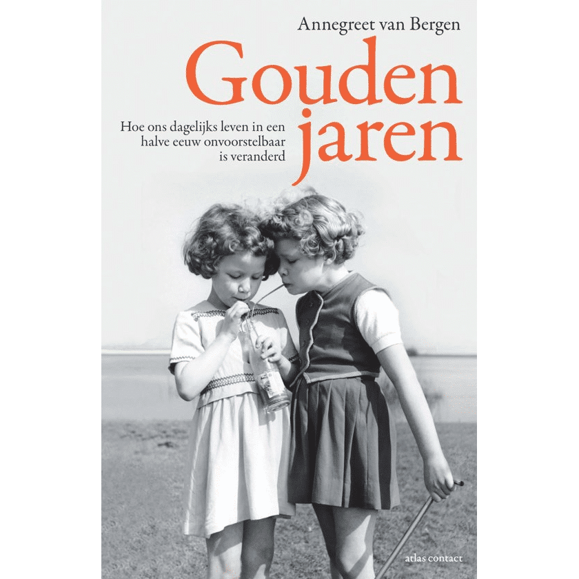 boek gouden jaren - cadeau voor een 75 jarige vrouw
