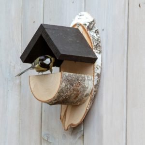 cadeau vrouw 80 jaar - vogelhuisje