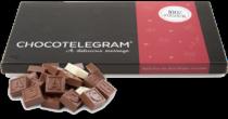 Chocolade telegram voor Oma