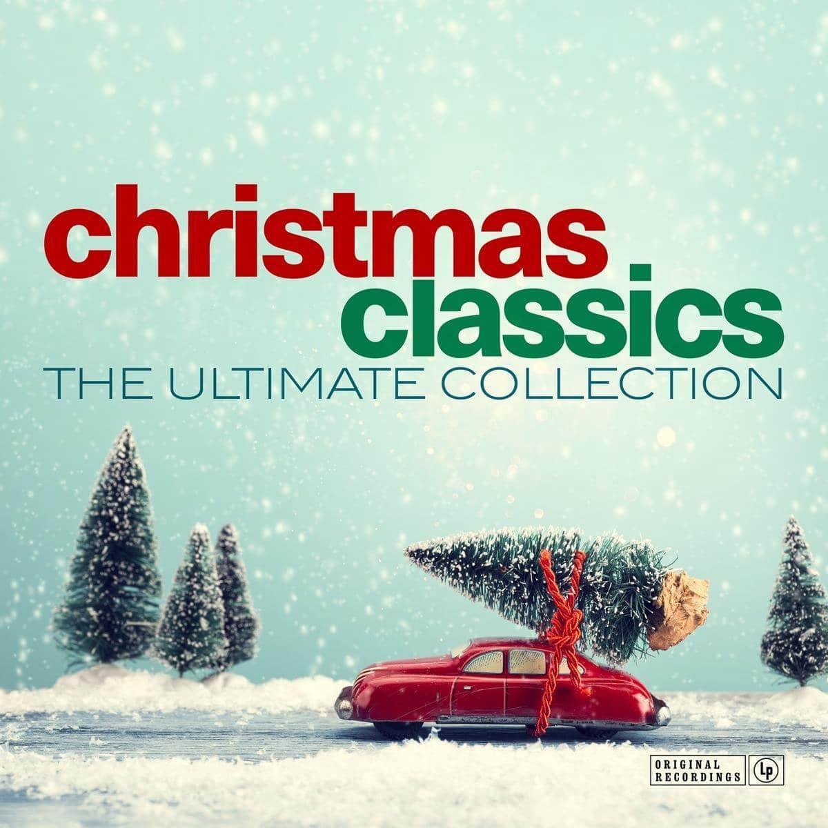 Kerstmuziek klassiekers - vinyl plaat