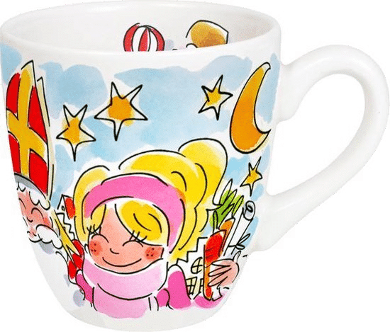 Sinterklaas cadeau voor Oma - blond amsterdam mok