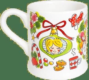 leuk sinterklaas cadeau voor een vrouw - kopje blond amsterdam kerst