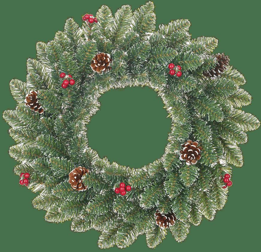 kunstkerstboom - kerstkrans