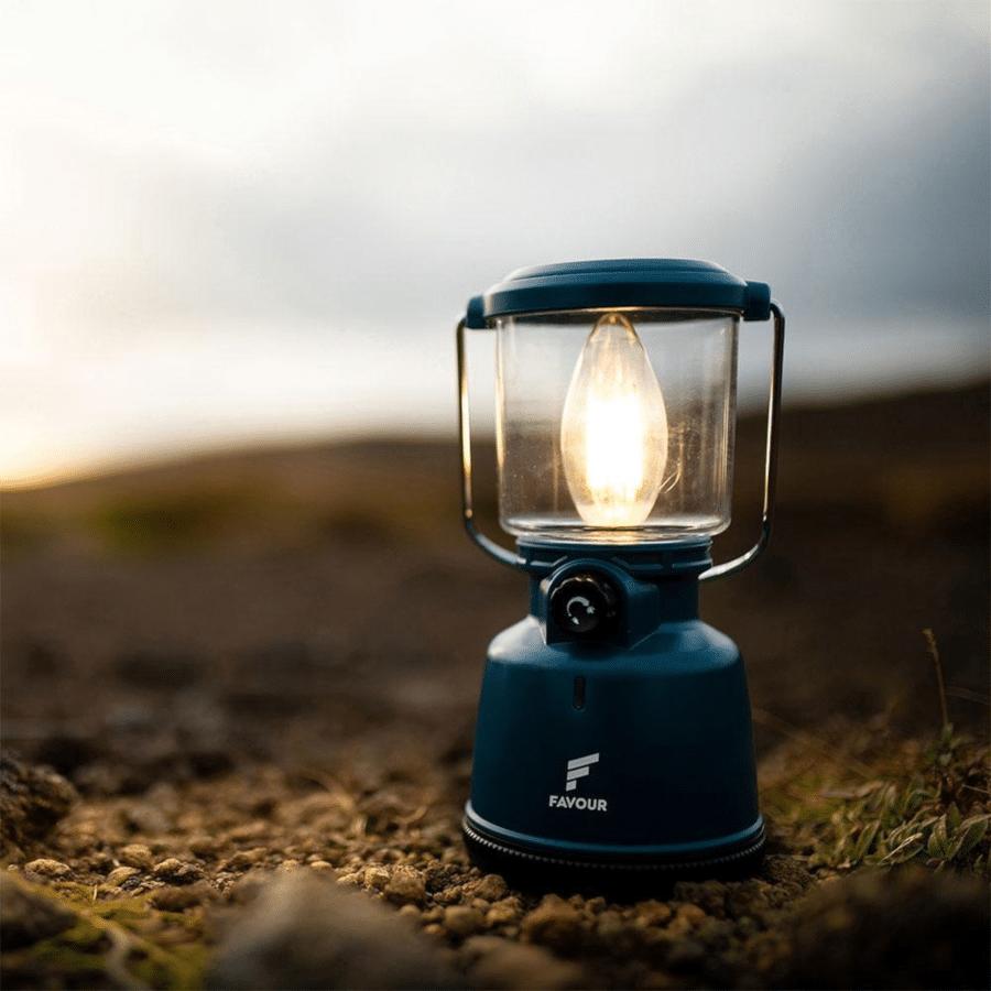oplaadbare campinglamp - cadeau kampeerder