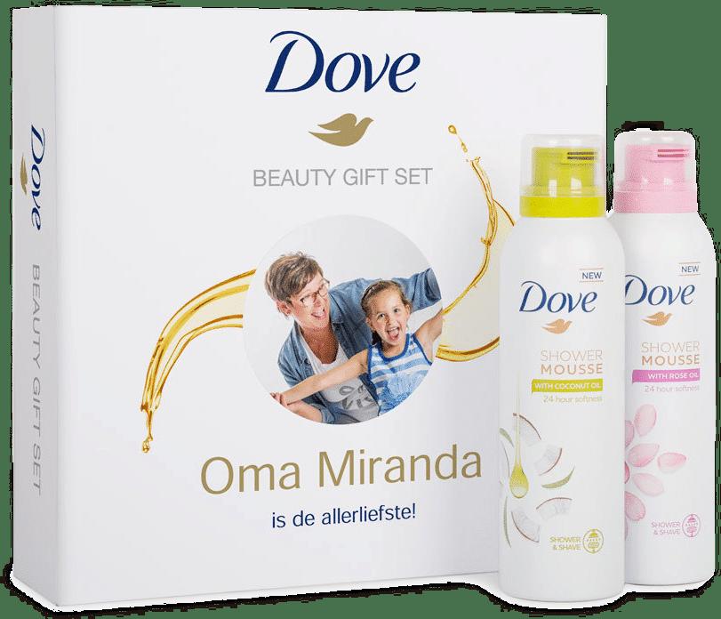 cadeau voor moederdag voor oma - geschenkset douchegel