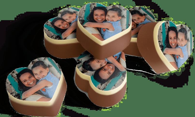 moederdagcadeau voor oma - bonbons met foto