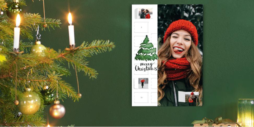 adventskalender met eigen foto's - cadeau voor oma
