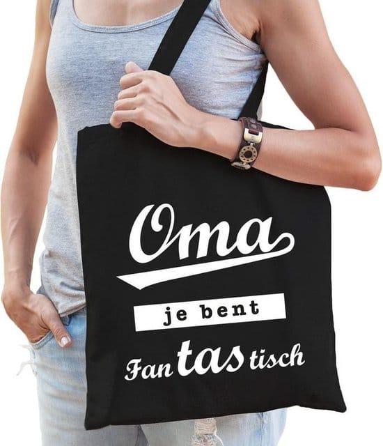 cadeau voor oma - duurzame tas