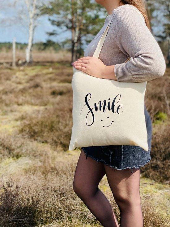 katoenen tas - cadeau voor milieubewuste vrouw