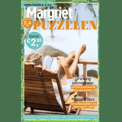 margriet puzzelen - Cadeau voor een puzzelaar