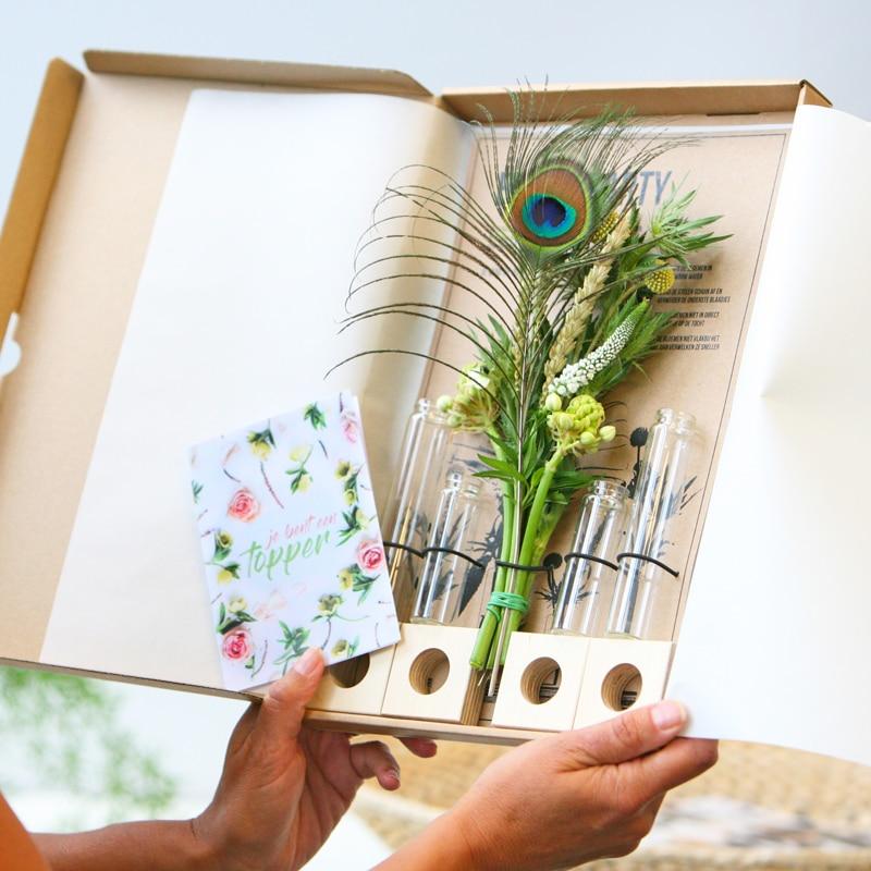 bloomparty - brievenbuscadeau voor Oma