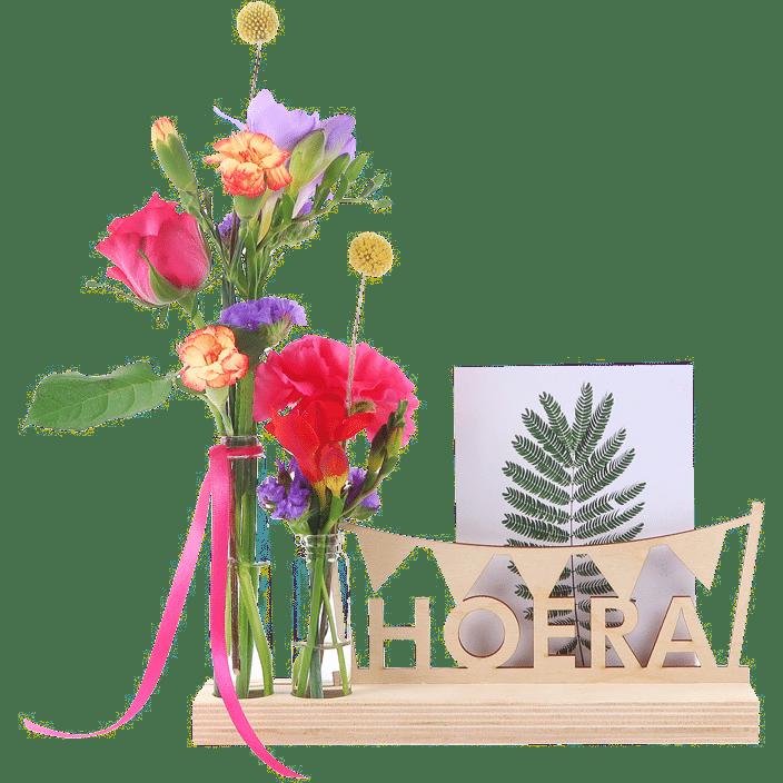 brievenbuscadeau voor Oma - bloompost