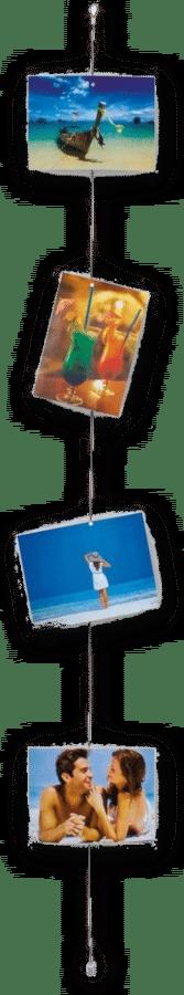 Fotodraad - Foto's ophangen met magneten