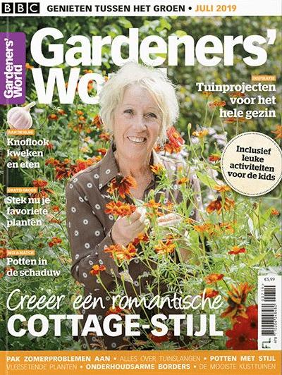 cadeau voor oma - tijdschrift tuinieren