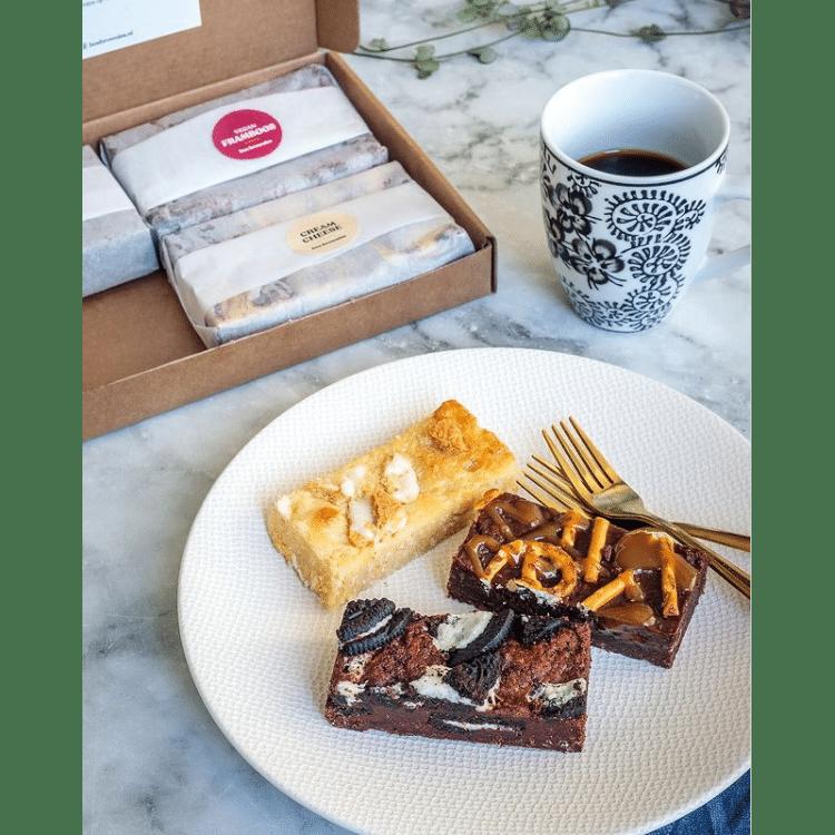 Brownies per post - Cadeau voor Oma