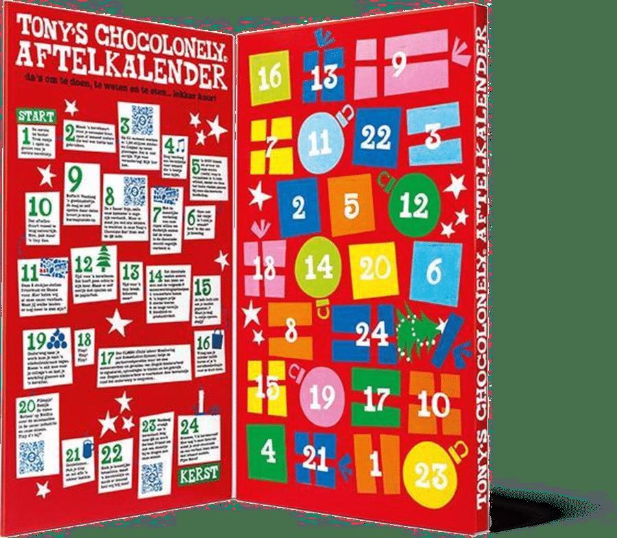Tony's Chocolonely - adventskalender voor volwassenen