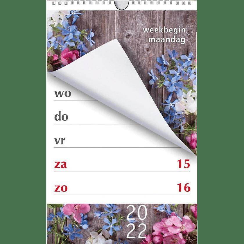 grootletter kalender - cadeau voor oma