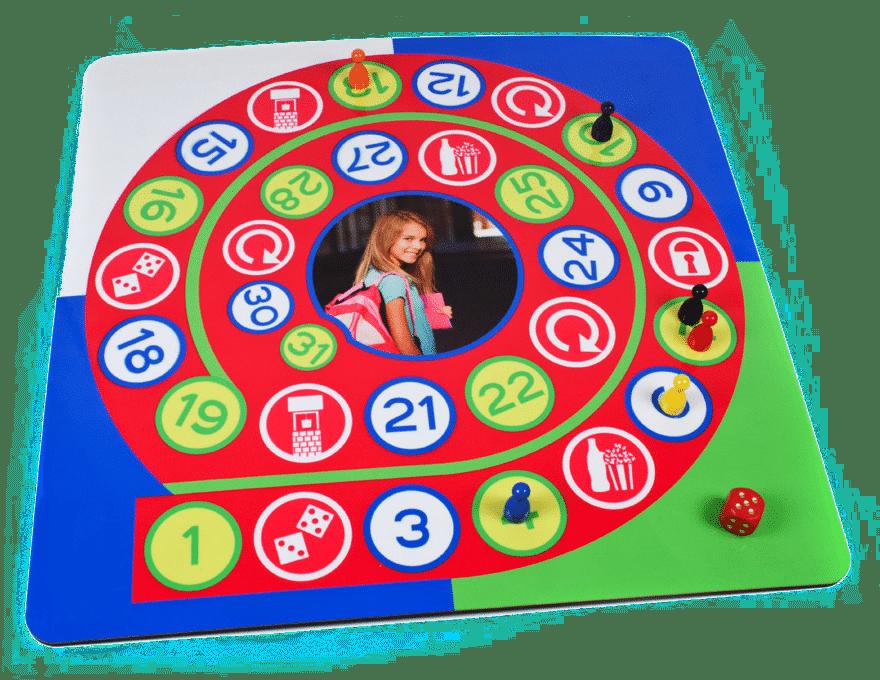 cadeau voor de hele familie - bordspel met eigen foto