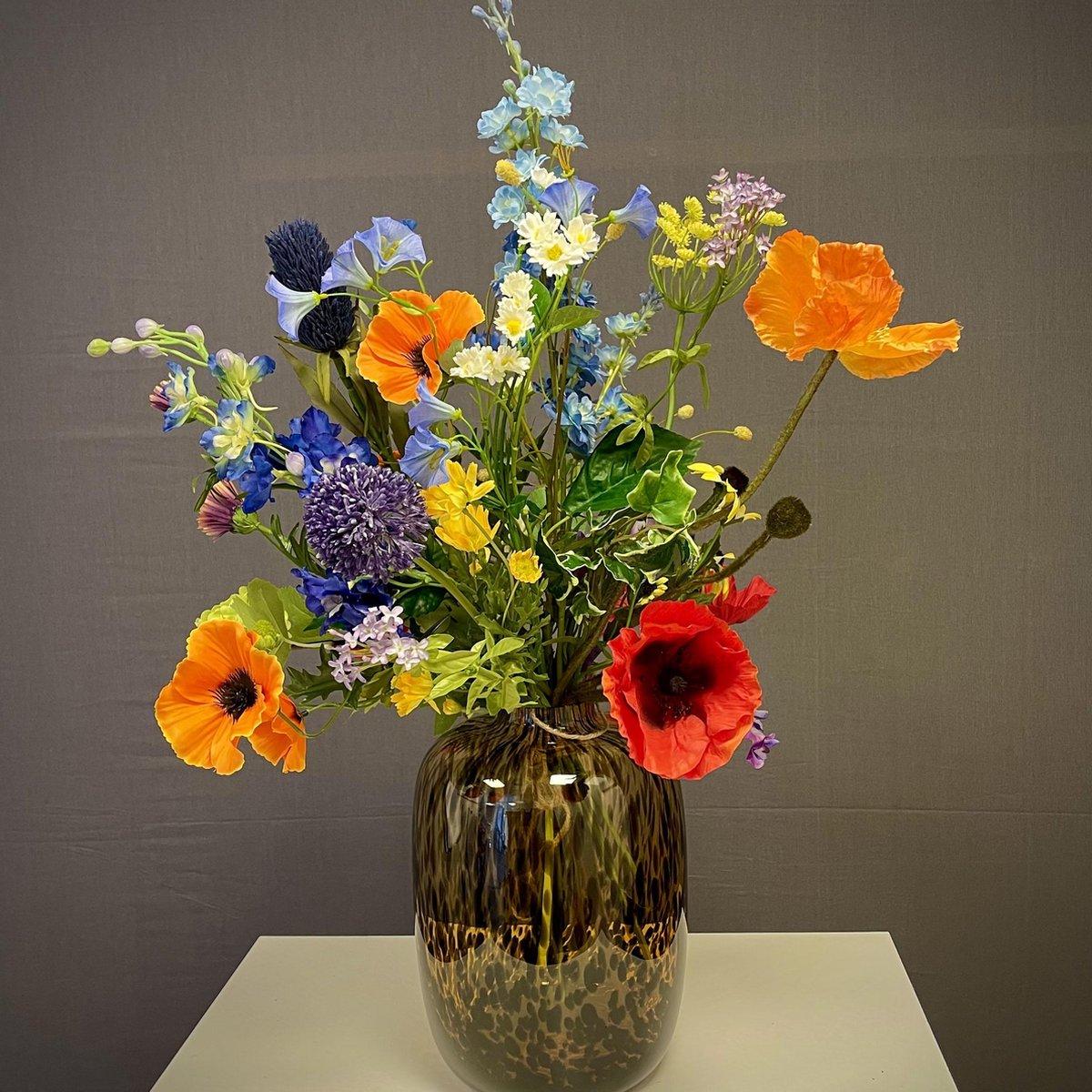 Cadeau voor Oma - Mooie kunstbloemen