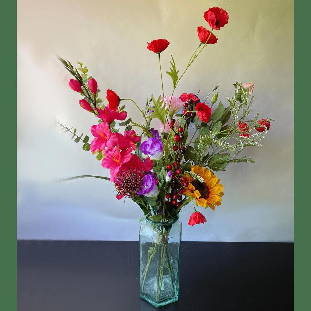Mooie kunstbloemen - Cadeau voor Oma