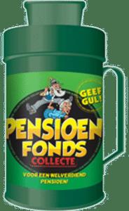 collectebus pensioenfonds - Cadeau voor het pensioen van Oma