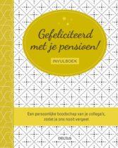 invulboek voor collega's bij pensioen - Cadeau voor het pensioen van Oma