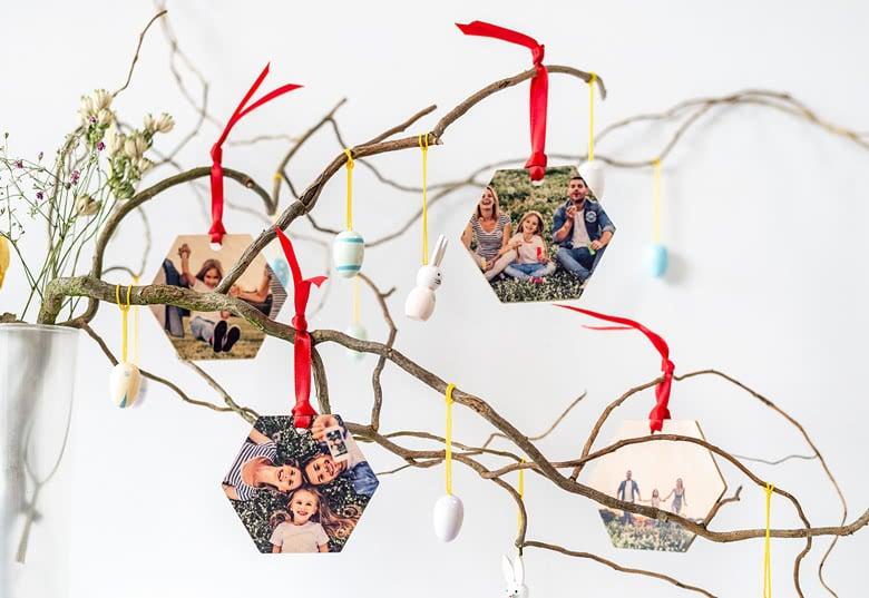 Paashangers met eigen foto - cadeau voor Pasen