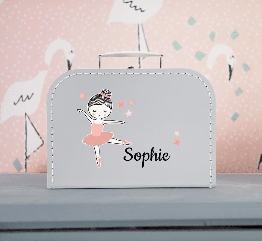 Koffertje met naam - cadeau kleinkind